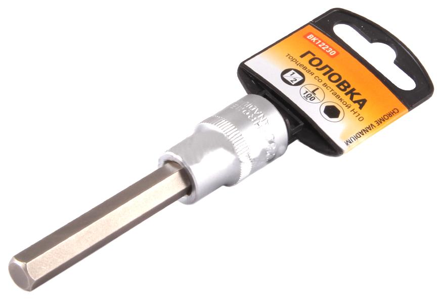 Торцевая головка с вставкой битой BOLK BK12232