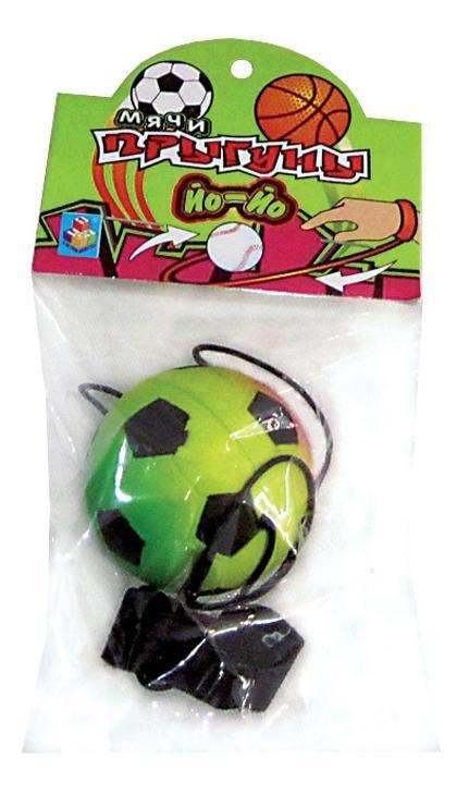 Мячик йо йо на палец спорт кислот.цвет