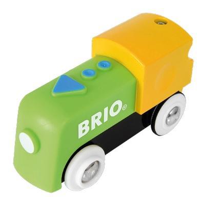 Набор железная дорога Brio Мой первый Паровозик на батарейках 33705