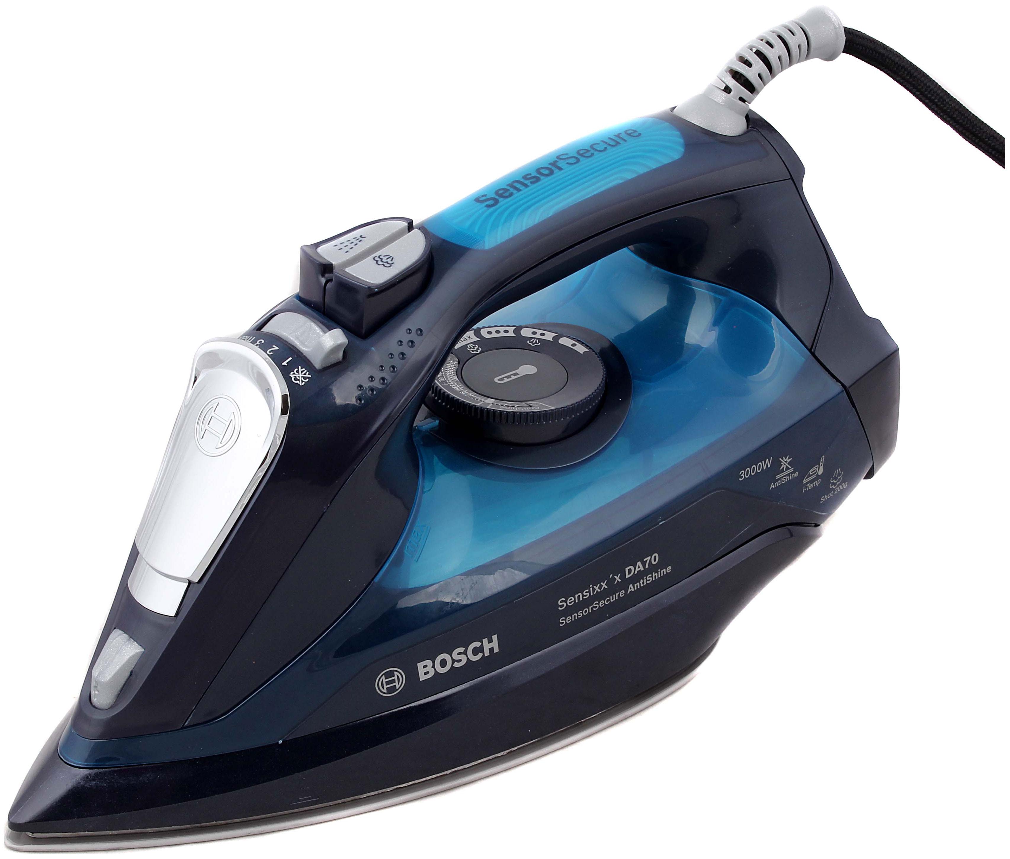 Утюг Bosch sensixx`x TDA703021A Blue