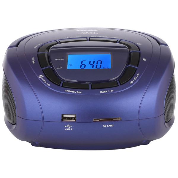 Магнитола BBK BS05 Синий, черный