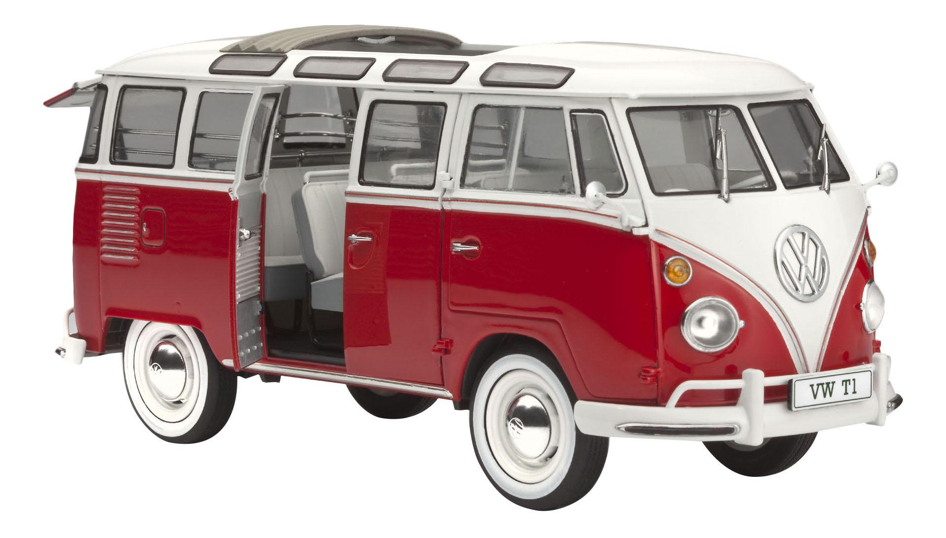 Купить Сборная модель автобуса vw t1 samba bus, Revell, Модели для сборки