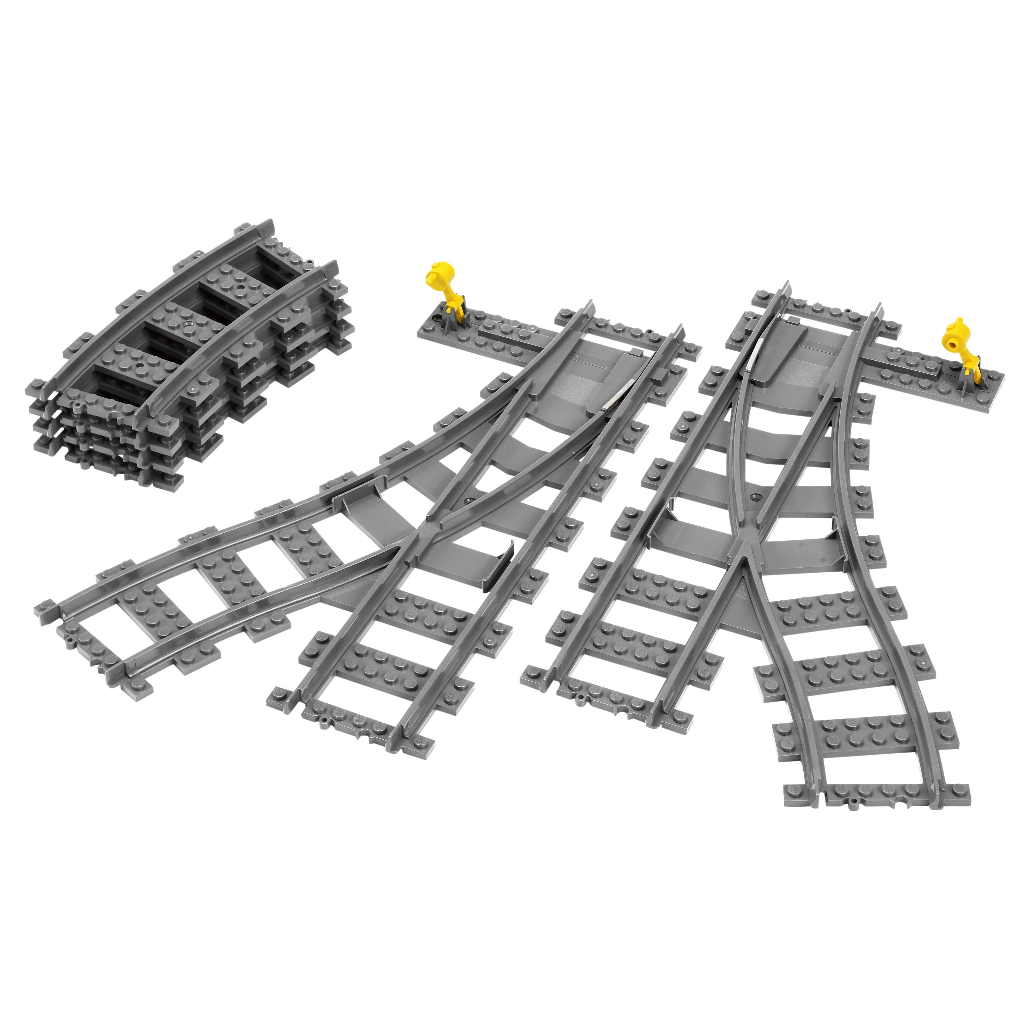 Купить Конструктор lego city trains железнодорожные стрелки 7895, Конструктор LEGO City Trains Железнодорожные стрелки (7895)