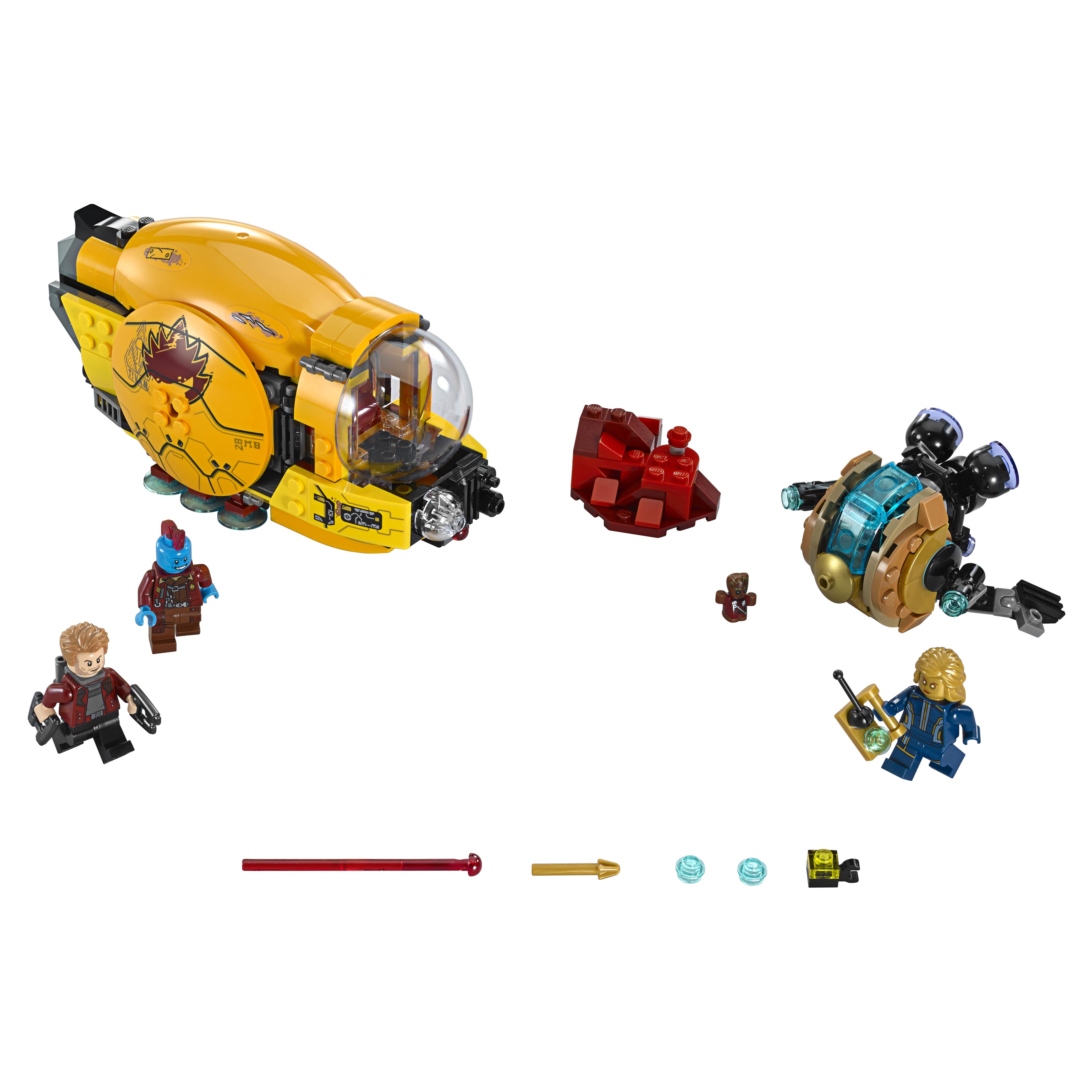 Конструктор LEGO Super Heroes Месть Аиши (76080)