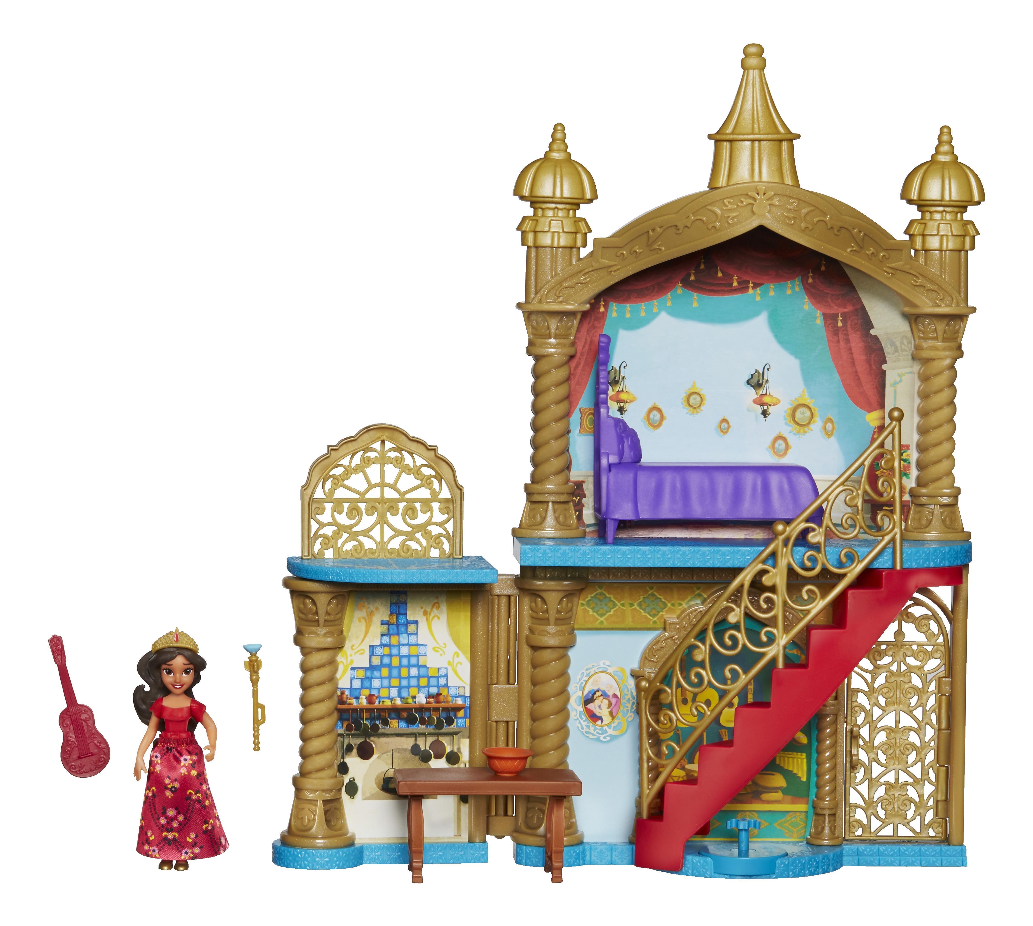 Купить Игровой набор замок маленькие куклы елена из авалор c0386, Hasbro, Классические куклы
