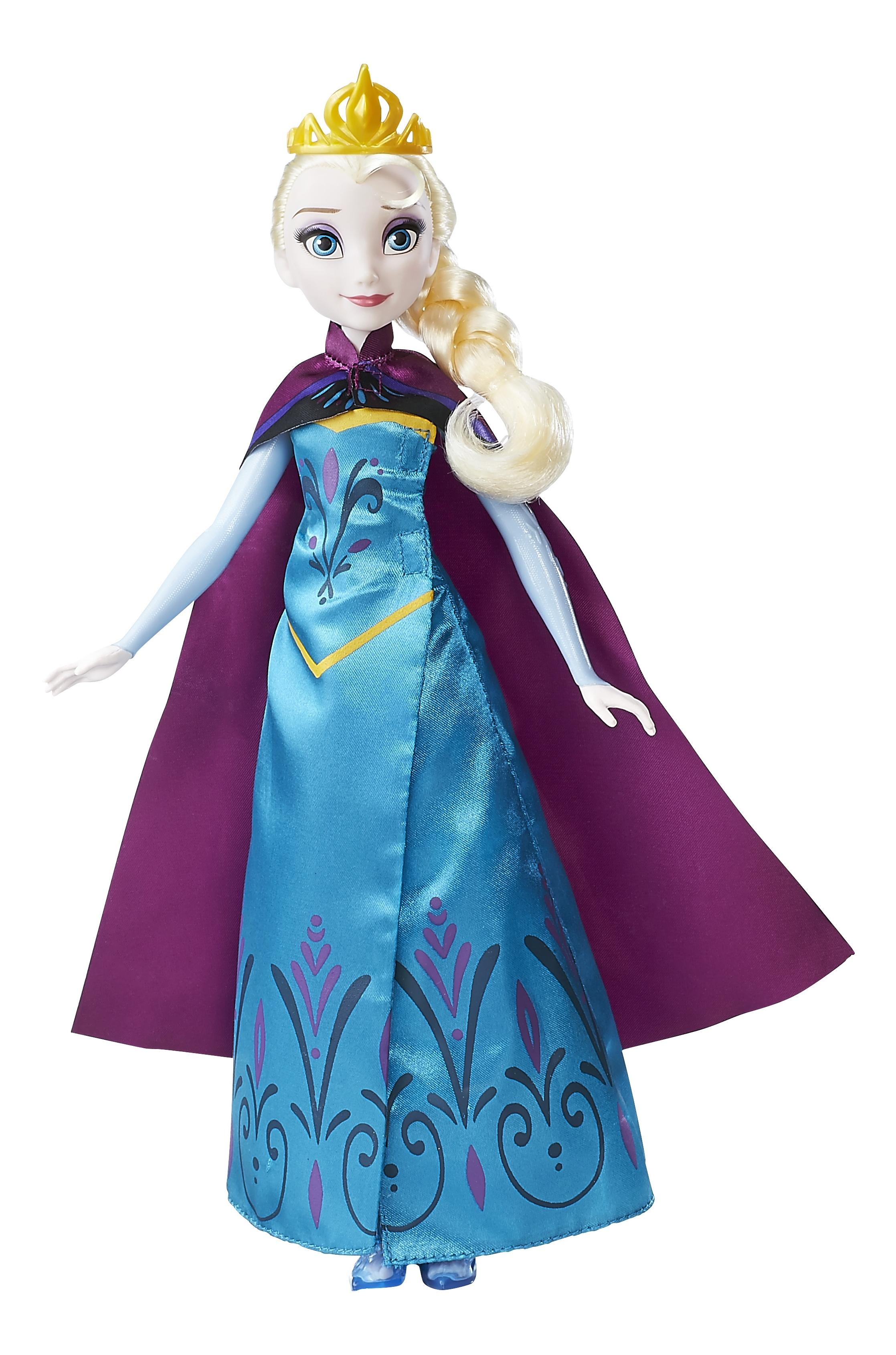 Кукла Disney модная Эльза в трансформирующемся наряде