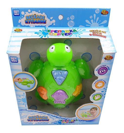 Купить Черепашка, Веселое купание. черепашка для ванной pt-00526, ABtoys, Игрушки для купания