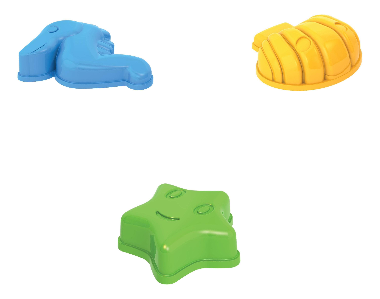 Купить Набор для песка № 2 (090+091+028), НОРДПЛАСТ, Песочные наборы