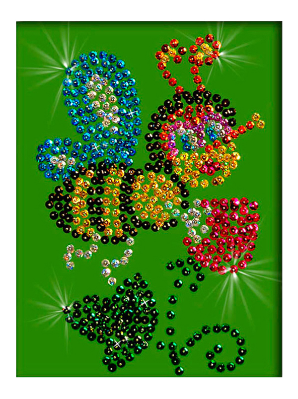 Мозаика из пайеток Волшебная мастерская Пчелка М004