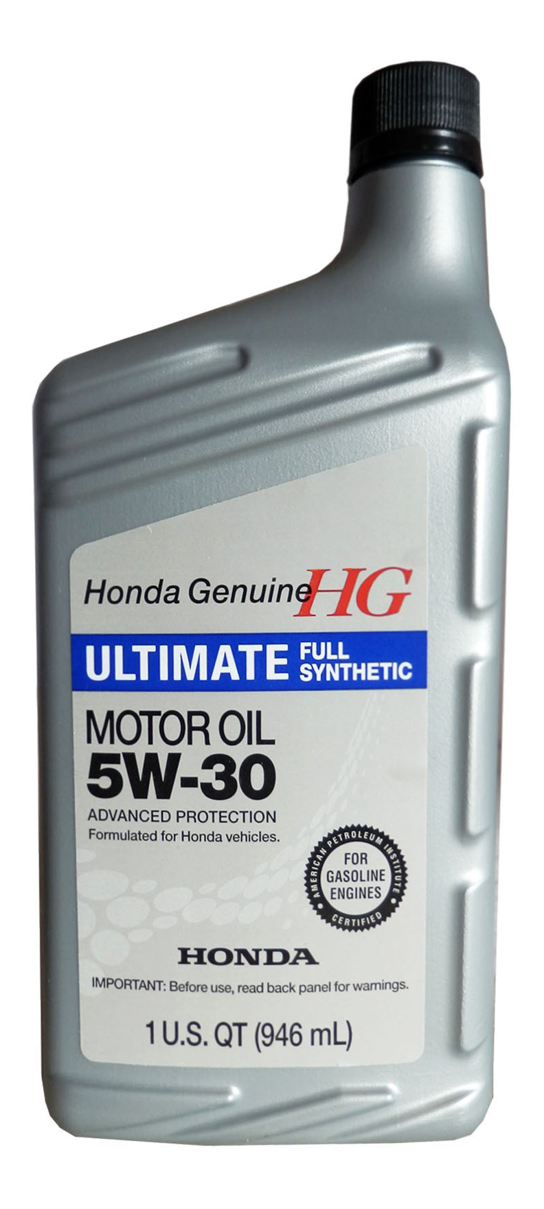 Моторное масло Honda Ultimate Full Synthetic 5W-20 0,946л