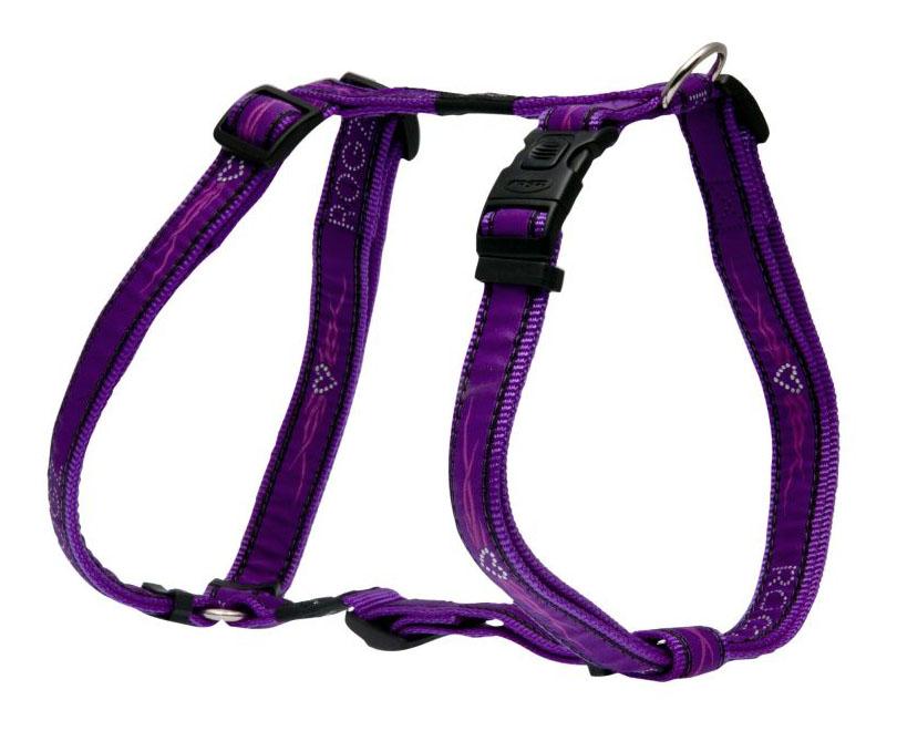 Шлейка для собак Rogz Fancy Dress XL-25мм (Фиолетовый SJ02BJ)