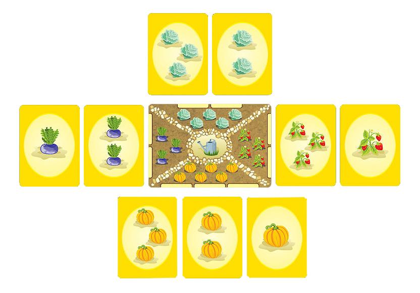 Семейная настольная игра Правильные игры Огород фото