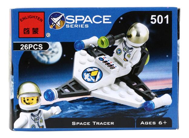 Конструктор пластиковый Brick Space Tracer