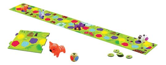 Семейная настольная игра Djeco Little circuit, Семейные настольные игры  - купить со скидкой