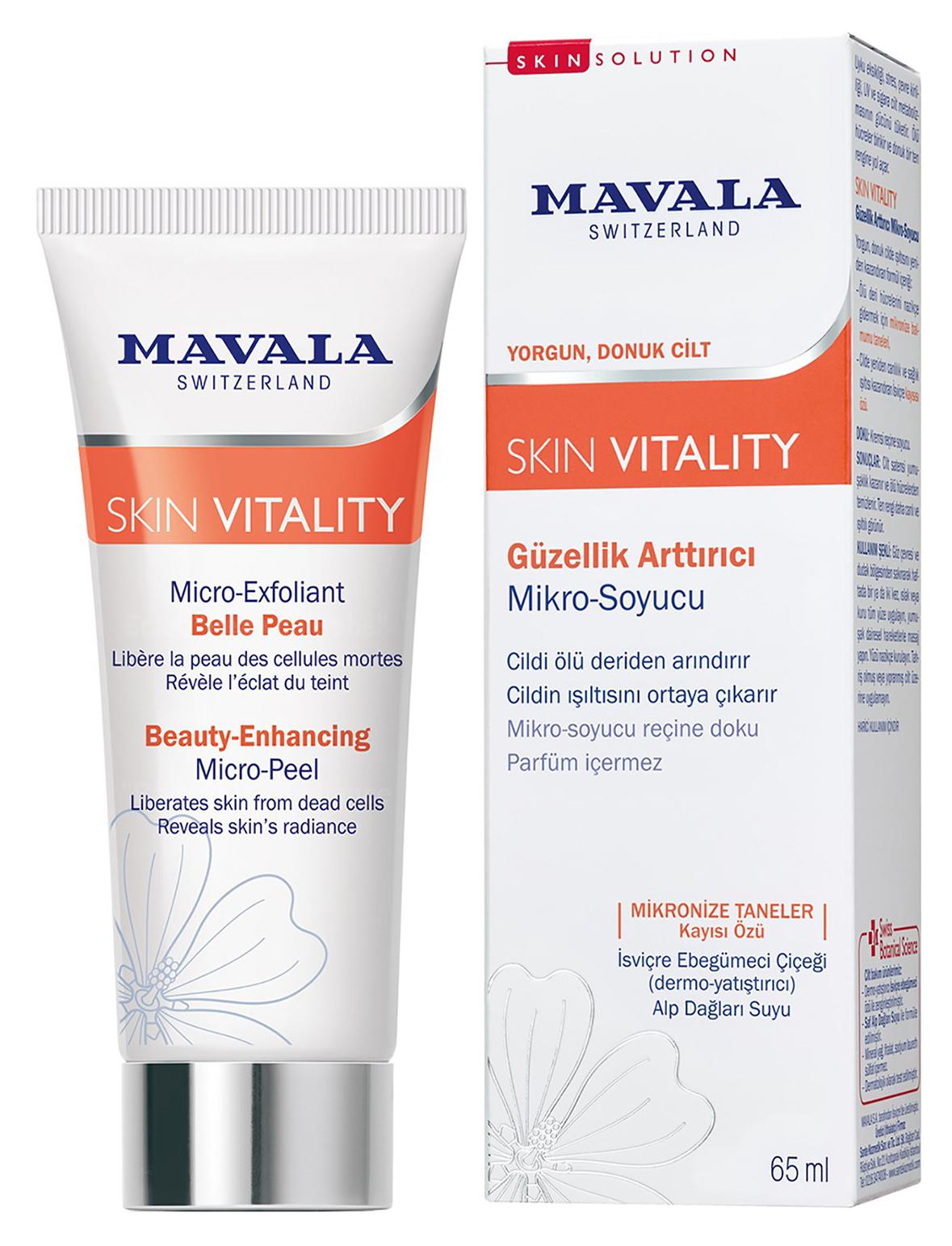 Микро скраб для улучшения цвета лица MAVALA,