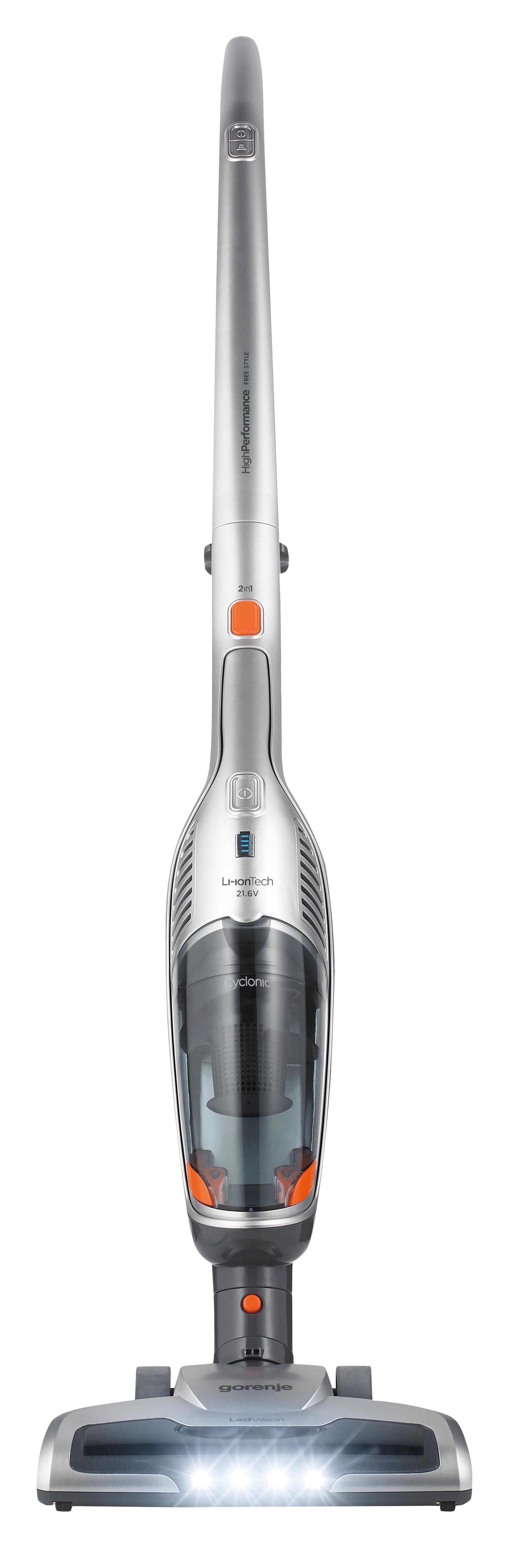 Вертикальный пылесос Gorenje  SVC216FS Silver