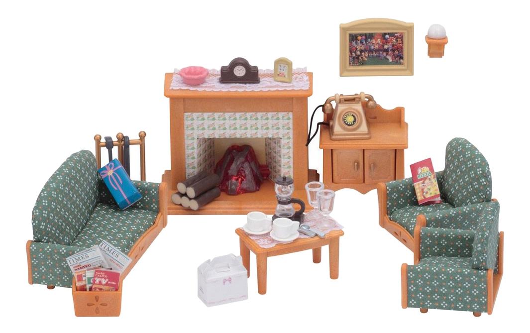 Купить Гостиная Deluxe, Игровой набор Sylvanian Families EPOCH Sylvanian Families Гостиная Deluxe, Игровые наборы