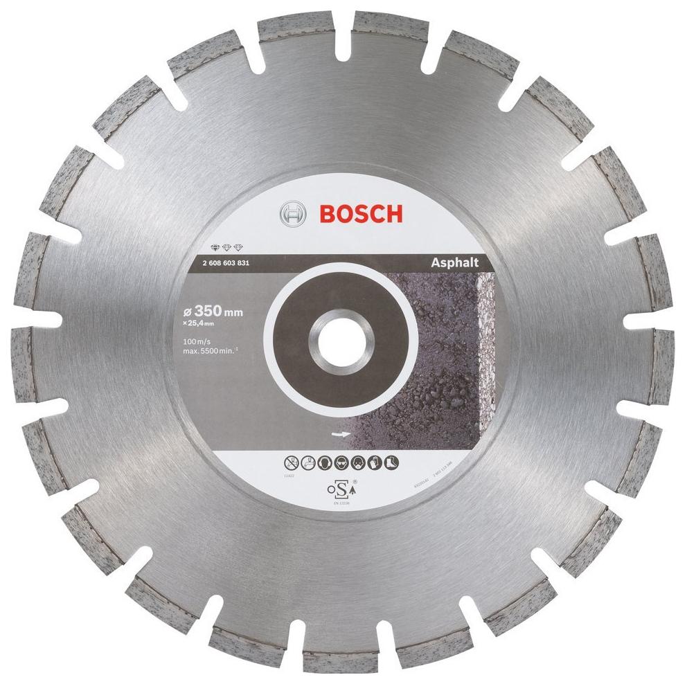 Алмазный диск Bosch Stf Asphalt 350-25,4 2608603831