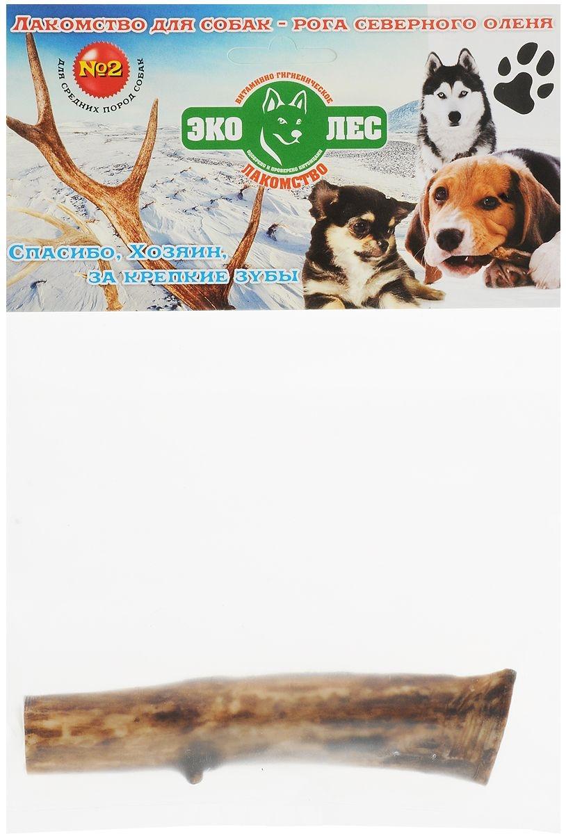 Лакомство для собак Эколес, рога северного оленя №2, 80г фото
