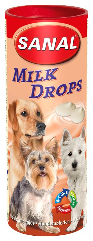 Витамины для собак Sanal Milk Drop,