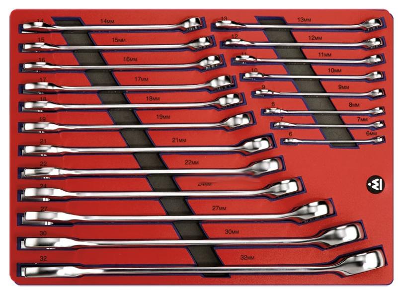Набор комбинированных ключей МАСТАК 20 предметов 5 21120
