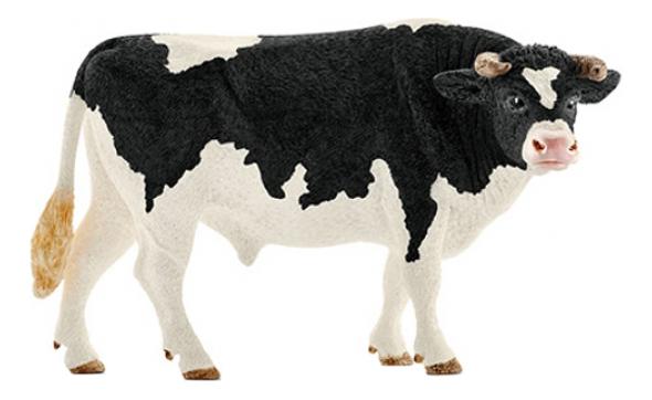 Купить Фигурка Бык Хольштейн Schleich Farm World 13796, Фигурки животных