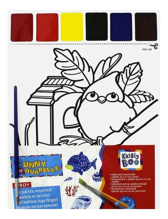 Набор для рисования KriBly Boo Птичка