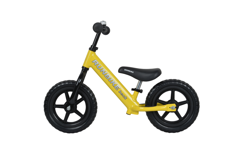 Беговел Runbike beck ALX жёлтый фото