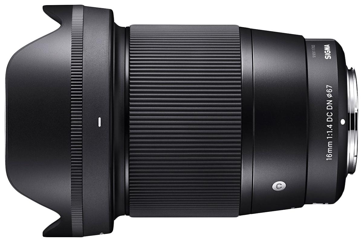 Объектив SIGMA 16mm f/1.4 DC DN Sony