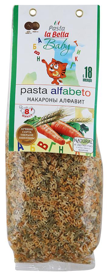 Макароны Pasta La Bella Baby Алфавит 400 г