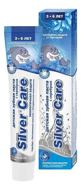 Детская зубная паста Silver Care 3 - 6 лет, 50 мл