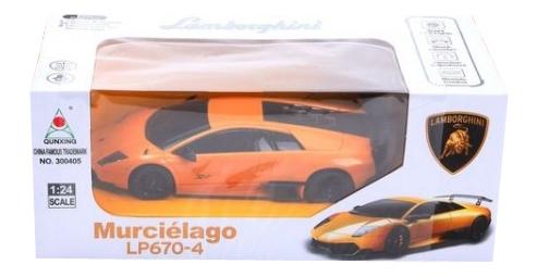 Машинка Shenzhen toys р у lamborghini murcielago lp670 4 1:24 М58854, Lamborghini Murcielago LP670-4  - купить со скидкой