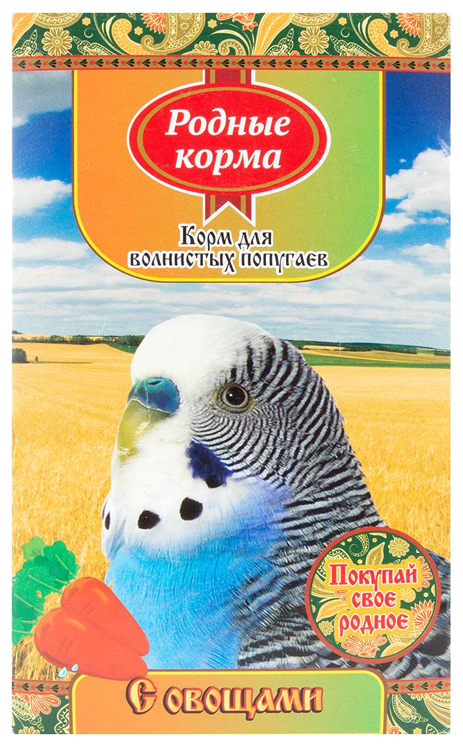 Основной корм Родные корма для волнистых попугаев