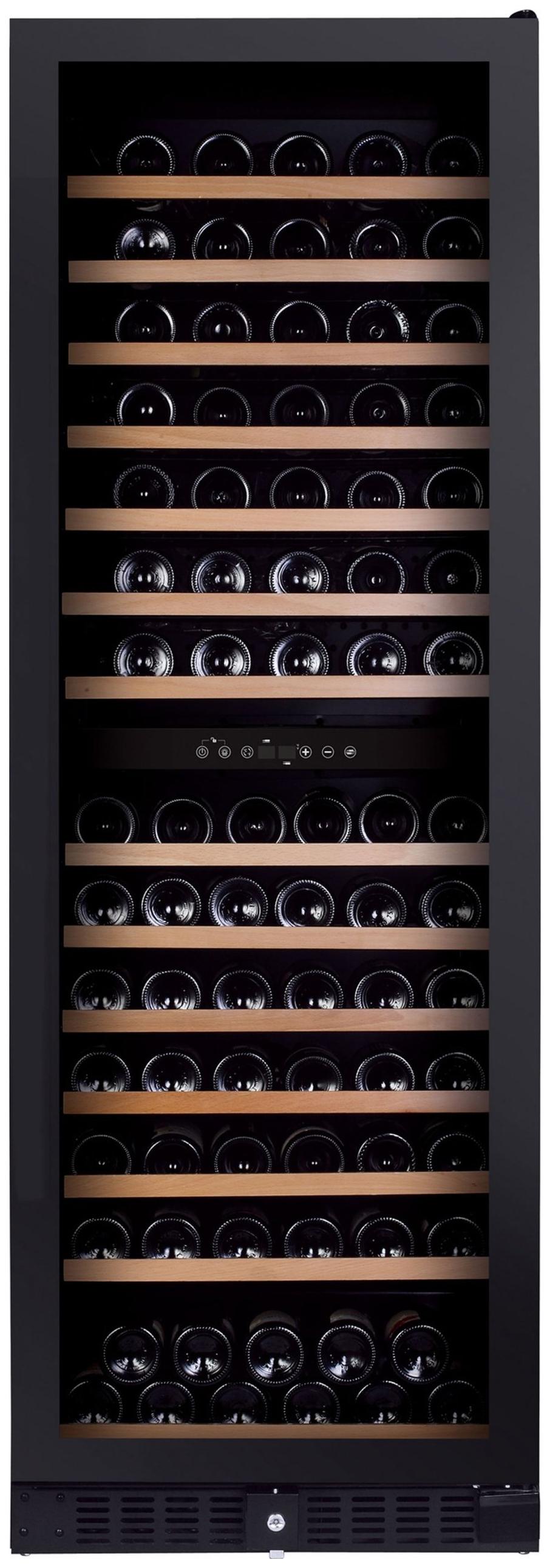 Встраиваемый винный шкаф Dunavox DX 166.428DBK