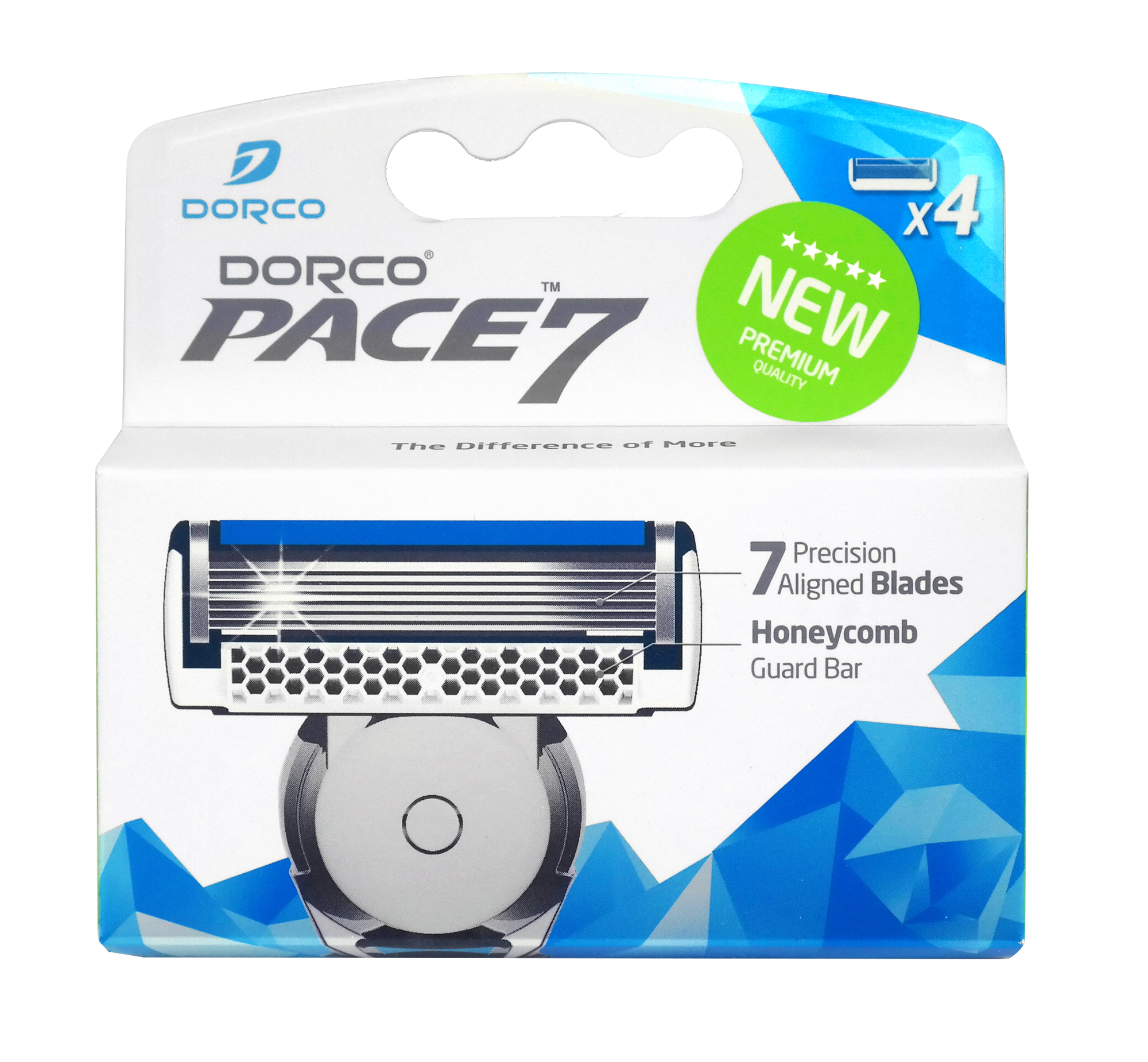 Сменное лезвие для станка Dorco Pace 7 4 шт.