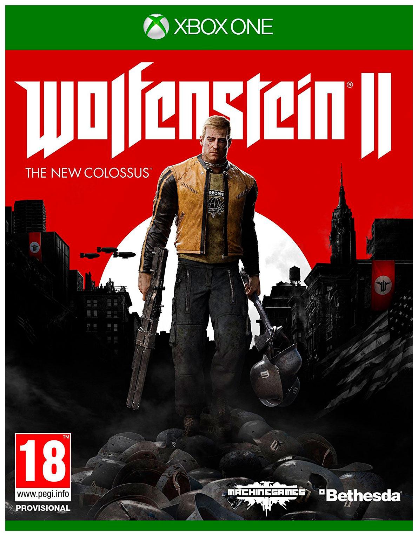 Игра Wolfenstein II: The New Colossus для Xbox One Bethesda WOLFENSTEIN II: THE NEW COLOSSUS XBOX ONE РУСС ВЕР