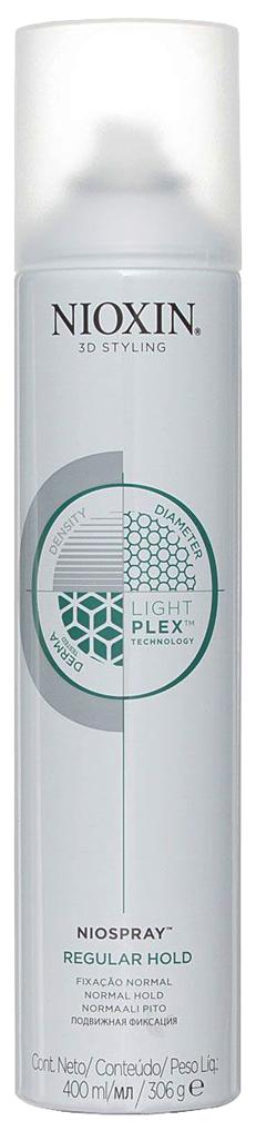 Лак для волос Nioxin 3D Styling Niospray Regular