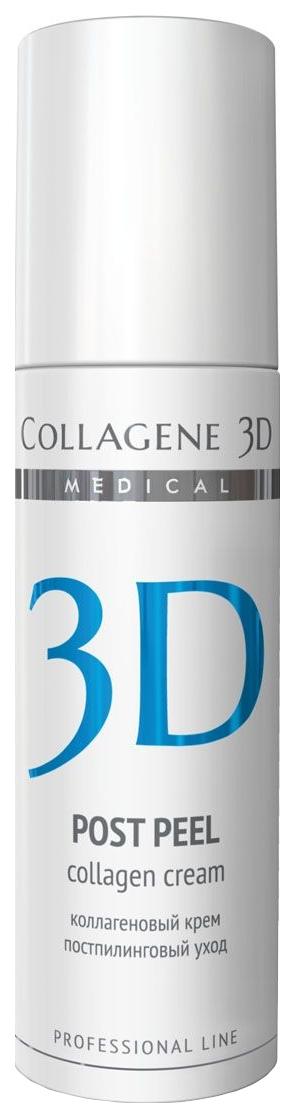 Купить Крем для лица Medical Collagene 3D для восстановления и защиты кожи после пилинга 150 мл, Крем для лица ПРОФ Post Peel 150 мл