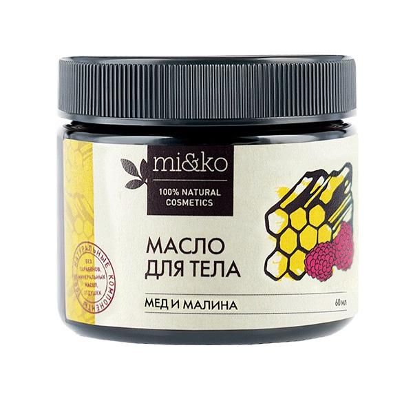 Купить Масло для тела Mi&Ko Мед и малина 60 мл, Мико