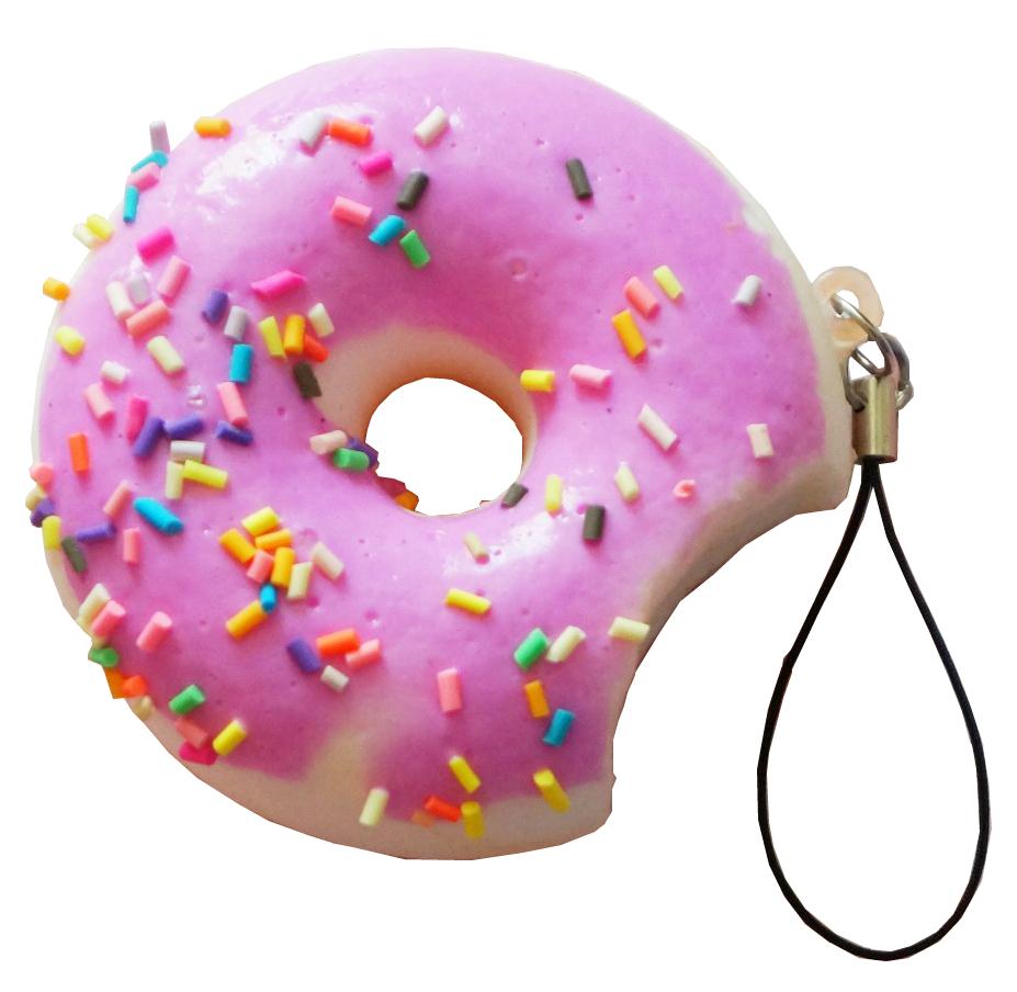 Купить Игрушка антистресс мини-пончик в глазури, Игрушка-антистресс 1Toy мммняшка squishy мини-пончик в глазури, 1 TOY, Сквиши