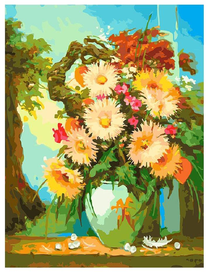 Раскраски по номерам Белоснежка Японский натюрморт 30х40 см фото