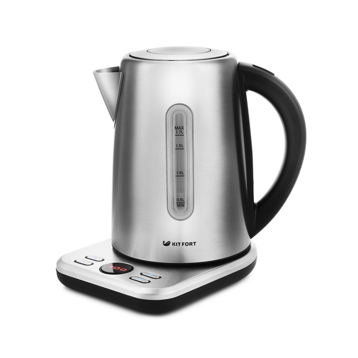 Чайник электрический Kitfort 661 КТ Silver