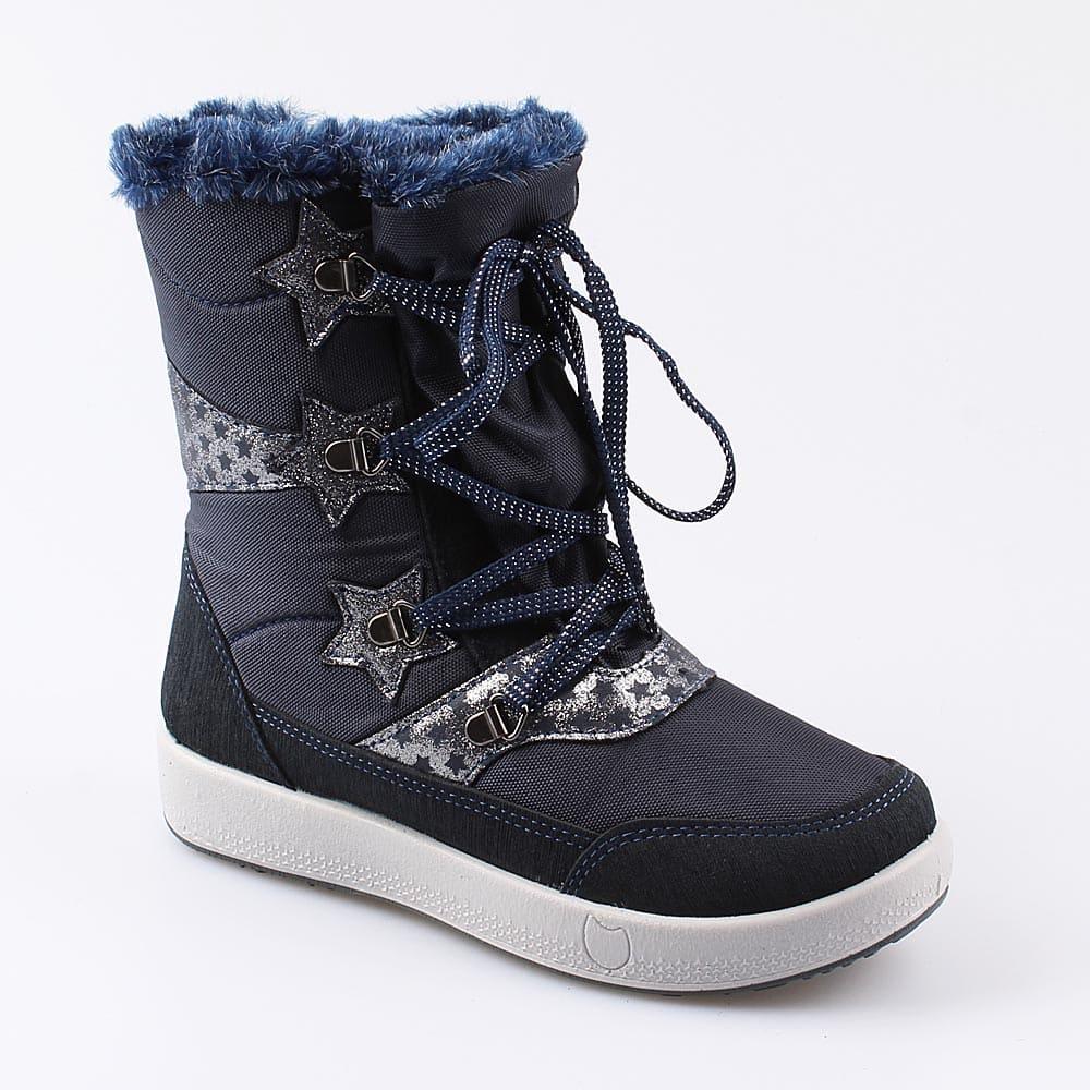 Мембранная обувь для девочек Котофей, 33 р-р