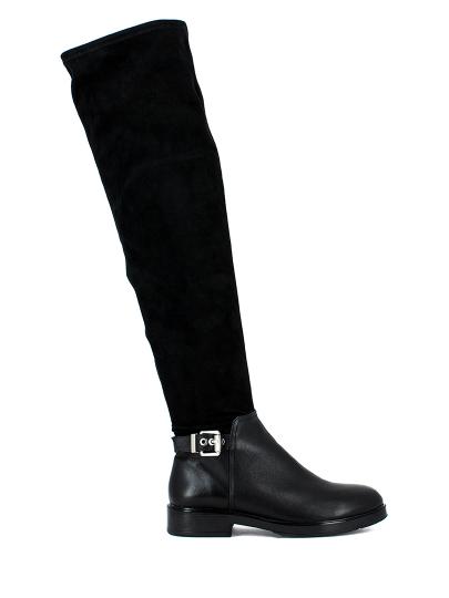 Ботфорты женские Massimo Santini черные