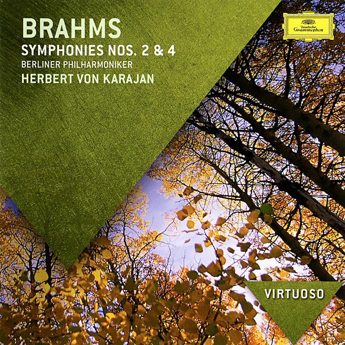 Аудио диск Karajan, Herbert Von Brahms: Symphonies Nos.2 #and# 4