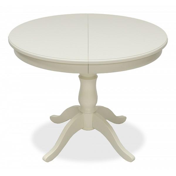 Кухонный стол Leset Стол обеденный Луизиана 1Р 90-120х90х75 см слоновая кость