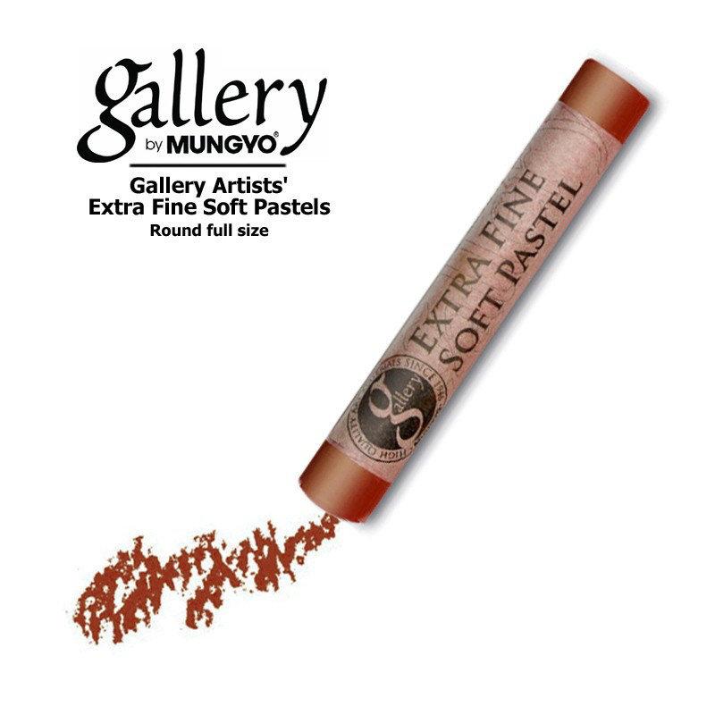 Пастель сухая мягкая круглая Mungyo GALLERY Extra Fine Soft, 318 Терракота