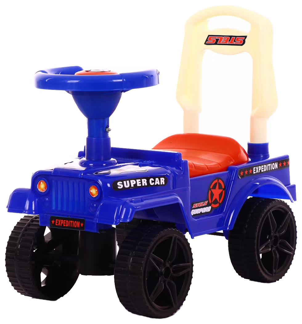 Купить Каталка детская Наша Игрушка Экспедитор Красная Синяя, Наша игрушка, Машинки каталки