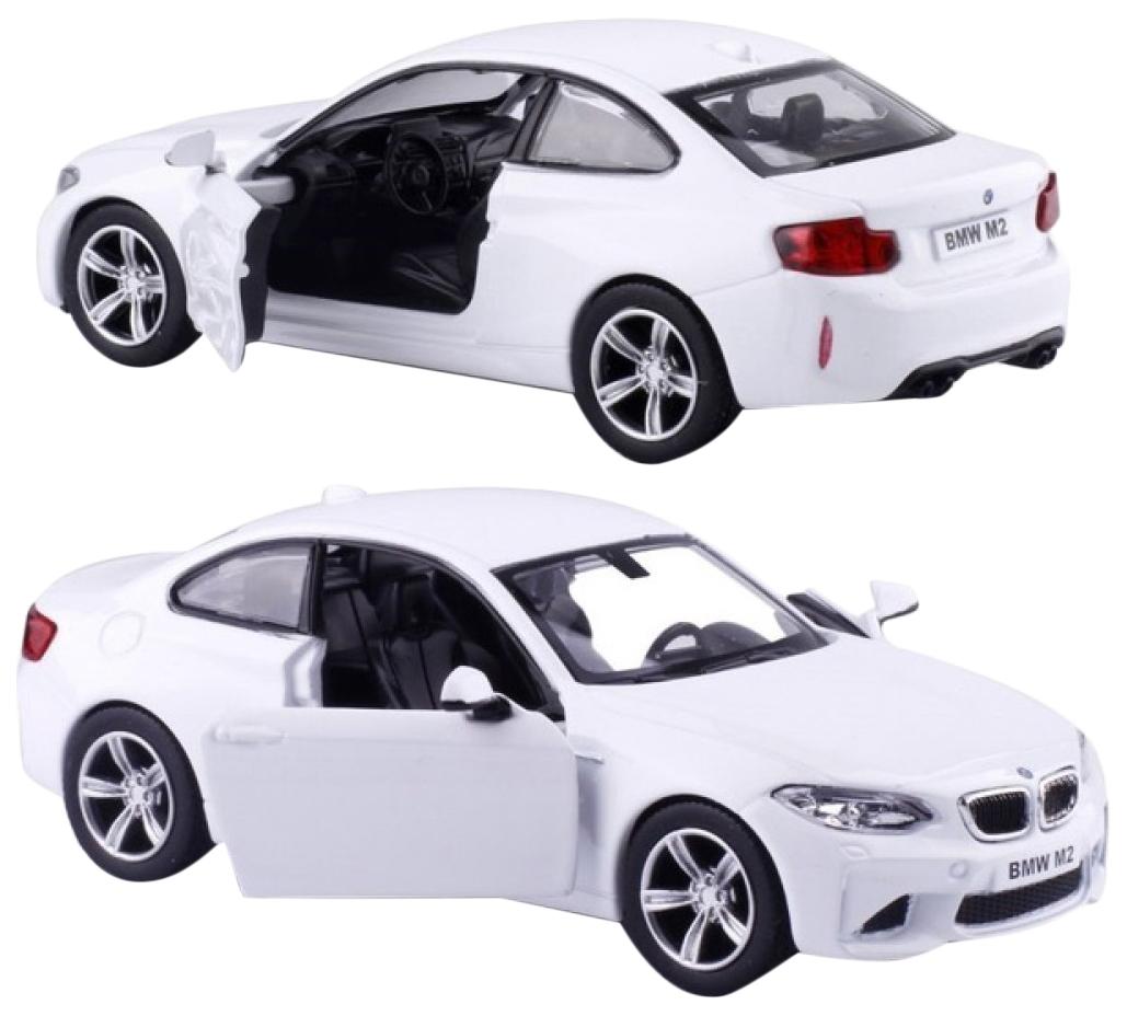 Купить UNI-FORTUNE Машина инерционная BMW M2 COUPE, белая 554034-WH, Игрушечные машинки