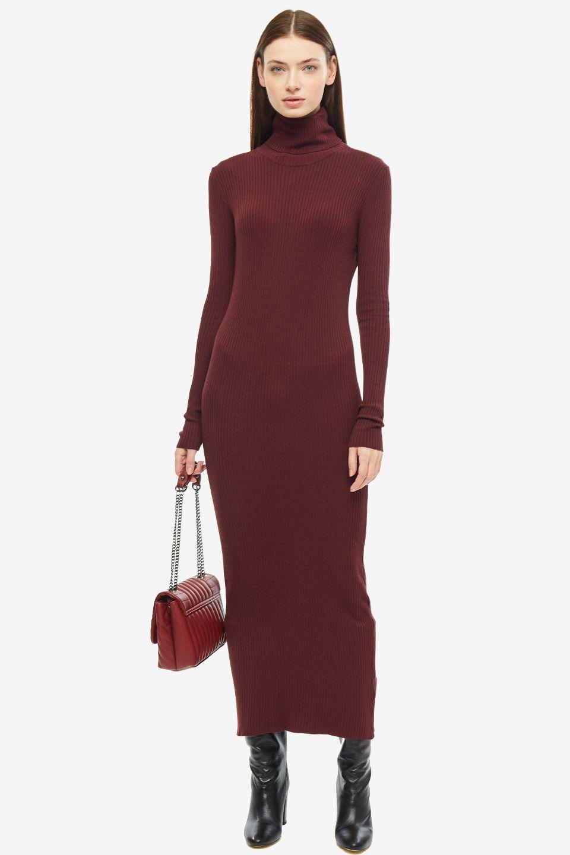 Платье женское SHADE BSHFW195485A бордовое M; L